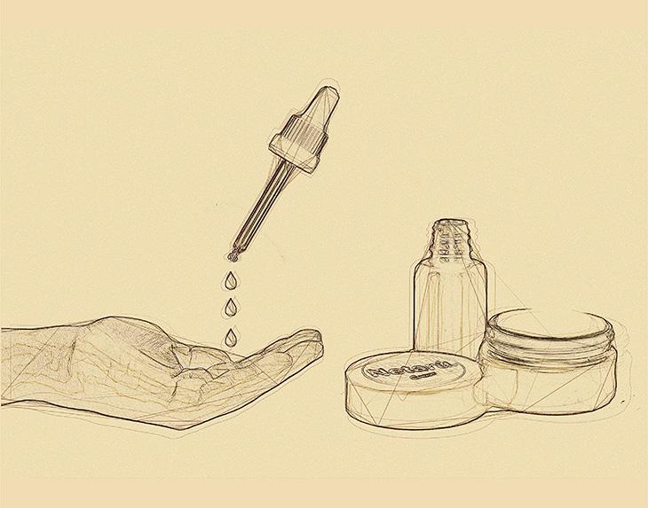 netarù olio viso